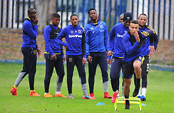 Cape Town--180329 Cape Town City striker Matthew Rusike at training preparing for heir Nedbank Cup game against Sundowns on sunday  .Photographer;Phando Jikelo/African News Agency/ANA