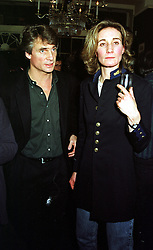 MR CHRISTOPHER WHALLEY and his sister MISS CARLI WHALLEY, at a reception in London on 17th November 1999.MZD 18
