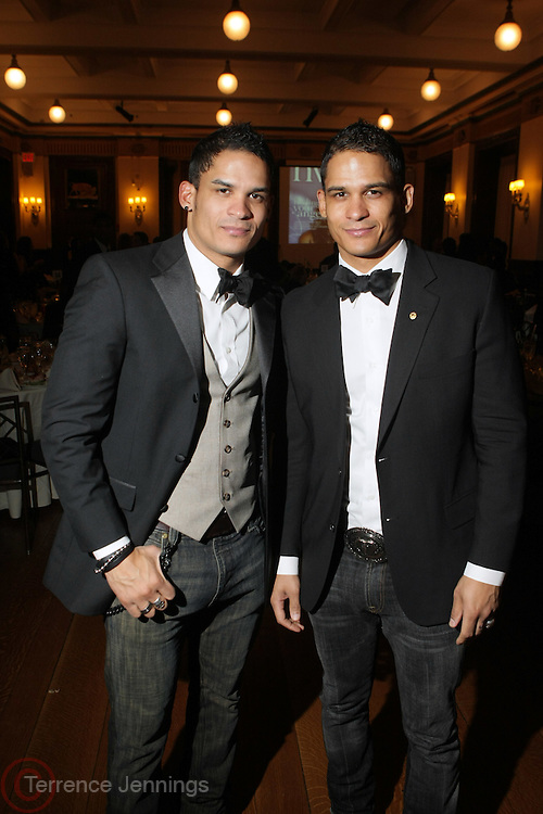 l to r: Shane and Shawn Ward at The 2009 NV Awards: A Salute to Urban Professionals sponsored by Hennessey held at The New York Stock Exchange on February 27, 2009 in New York City. ....