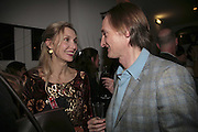 Allegra Hicks and Hamish Bowles, India Hicks And Crabtree & Evelyn launch new skincare range. : Hempel Hotel, 31-35 Craven Hill Gardens, London, W2, 22 November 2006. ONE TIME USE ONLY - DO NOT ARCHIVE  © Copyright Photograph by Dafydd Jones 66 Stockwell Park Rd. London SW9 0DA Tel 020 7733 0108 www.dafjones.com