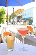 Key West, Florida, cocktails, duvall street, duvall, bar, color, drinks, cocktail, travel, vertical,