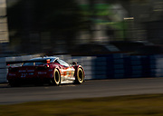 March 16, 2013: 61st Mobil 1 12 Hours of Sebring. 23 Leh Keen, Bill Sweedler, Townsend Bell, Team West ,  Alex Job Racing