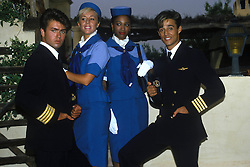 April 18, 2012 - London, England, United Kingdom - GEORGE MICHAEL AND ANDREW RIDGELEY OF WHAM, ON SET OF THE CLUB TROPICANA VIDEO ... /..*** HIGHER RATES APPLY  (Credit Image: © Frank Griffin/Avalon via ZUMA Press)