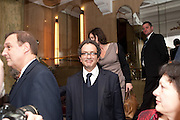 LORD GLASMAN,  House of Lords and House of Commons Parliamentary Palace of Varieties in aid of Macmillan Cancer Support. <br /> Park Lane Hotel, Piccadilly, London, 7 March 2012.