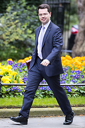 © Licensed to London News Pictures . 29/03/2017 . London , UK . JAMES BROKENSHIRE arrives . Ministers arriving and leaving for a Cabinet meeting and Prime Minster's Questions , at 10 Downing Street , Westminster . Today (29th March 2017) the British Government will trigger Article 50 of the Lisbon Treaty and commence Britain's withdrawal from the European Union . Photo credit : Joel Goodman/LNP