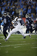 Jacksonville Jaguars defensive back Ronnie Harrison (36) in action during the week 14 regular season NFL football game against the Tennessee Titans on Thursday, Dec. 6, 2018 in Nashville, Tenn. The Titans won the game 30-9. (©Paul Anthony Spinelli)