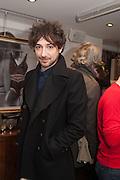 ALEX ZANE, Maison Triumph launch to celebrate the beginning of London fashion week. Monmouth St. 14 February 2013.