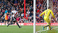 Florian Jozefzoon of Brentford goes close during the Sky Bet Championship match between Brentford and Bristol City at Griffin Park, London<br /> Picture by Mark D Fuller/Focus Images Ltd +44 7774 216216<br /> 01/04/2017