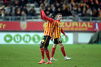 Joie Lens -  Adamo COULIBALY  - 19.12.2014 - Lens / Nice - 19e journee Ligue 1<br />