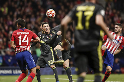 February 20, 2019 - Madrid, Spain - Cristiano Ronaldo (Juventus)  in action during the match   UCL Champions League match between Atletico de Madrid vs Juventus at the Wanda Metropolitano stadium in Madrid, Spain, February 20, 2019  (Credit Image: © Enrique De La Fuente/NurPhoto via ZUMA Press)
