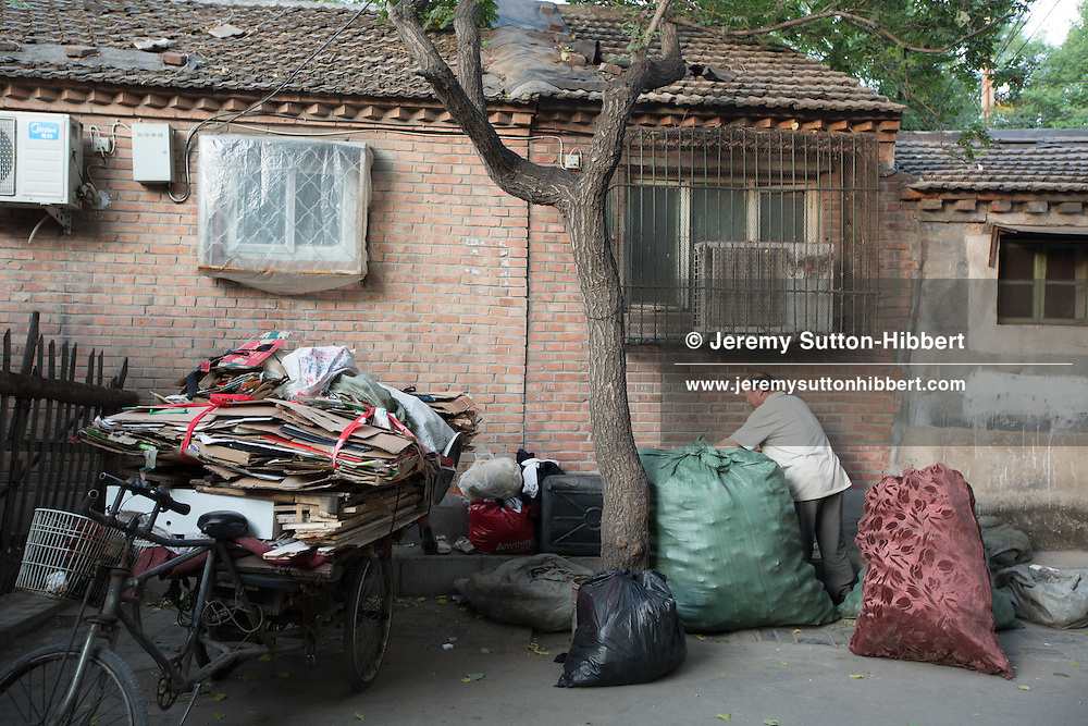 Life in the hutongs, in Beijing, China, Wednesday 30th May 2012.