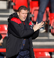 Steve Cotterill of Bristol City during the Sky Bet Championship match at Ashton Gate, Bristol<br /> Picture by Mike Griffiths/Focus Images Ltd +44 7766 223933<br /> 21/11/2015