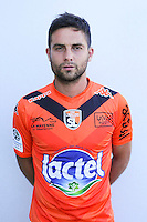 Mathieu Coutadeur of Laval during Laval squad photo call for the 2016-2017 Ligue 2 season on September, 7 2016 in Laval, France ( Photo by Philippe Le Brech / Icon Sport )