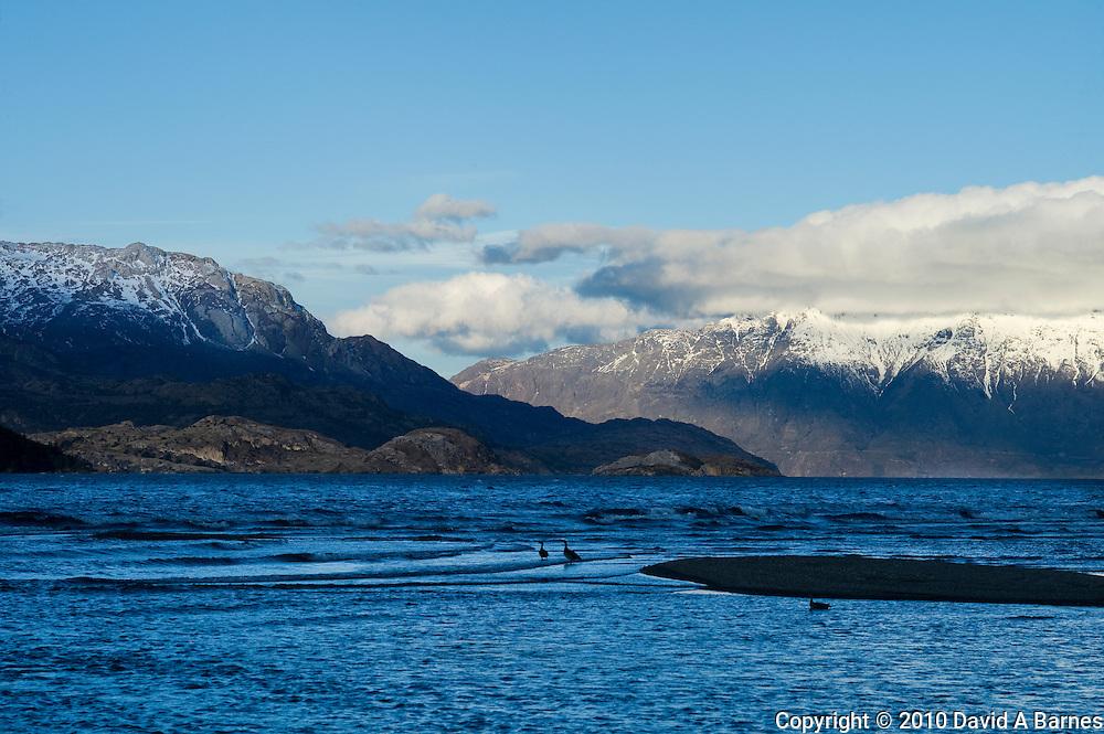 Lago General Carrera, Patagonia, Chile