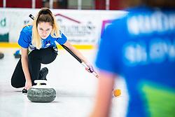 GREGORI Liza during Curling Training session U15 on November 24, 2019 in Arena Podmezakla Hall, Ljubljana, Slovenia. Photo by Peter Podobnik / Sportida