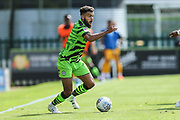 Forest Green Rovers Dominic Bernard(3) during the EFL Sky Bet League 2 match between Forest Green Rovers and Newport County at the New Lawn, Forest Green, United Kingdom on 31 August 2019.