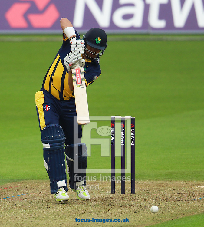 Jaques Rudolph of Glamorgan during the Natwest T20 Blast match at the Kia Oval, London<br /> Picture by John Rainford/Focus Images Ltd +44 7506 538356<br /> 11/07/2014