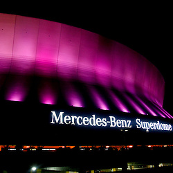 October 7, 2012; New Orleans, LA, USA; A general view following a Sunday night win by the New Orleans Saints over the San Diego Chargers at the Mercedes-Benz Superdome. The Saints defeated the Chargers 31-24. Mandatory Credit: Derick E. Hingle-US PRESSWIRE