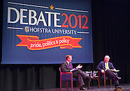 Karl Rove and Robert Gibbs Hofstra Debate 2012