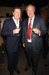 Left to right, PIERS MORGAN and SIR VICTOR BLANK at a party to celebrate the publication of Piers Morgan's book 'Don't You Know Who I Am?' held at Paper, 68 Regent Street, London W1 on 18th April 2007.<br /><br />NON EXCLUSIVE - WORLD RIGHTS