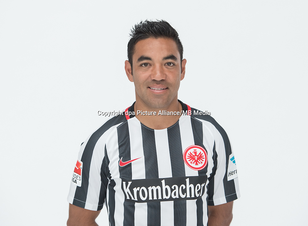 German Bundesliga - Season 2016/17 - Photocall Eintracht Frankfurt on 21 June 2016 in Frankfurt, Germany: Marco Fabian. Photo: Handout/Eintracht Frankfurt/Hübner/dpa | usage worldwide