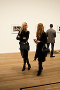 LINA ANDERSON; EVITA ABLOGINA, Gabriel Orozco reception, Tate Modern, London. 18 January 2010. .-DO NOT ARCHIVE-© Copyright Photograph by Dafydd Jones. 248 Clapham Rd. London SW9 0PZ. Tel 0207 820 0771. www.dafjones.com.