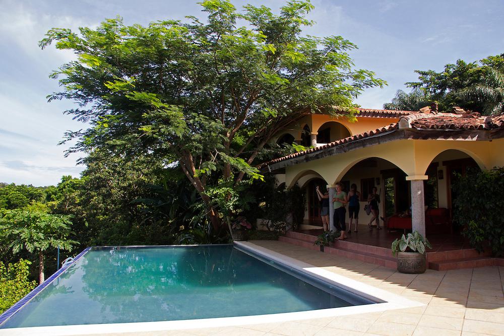 Central America, Nicaragua, San Juan del Sur. Cloud Farm (Finca las Nubes).