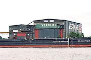 Nederland, the Netherlands, Rotterdam, 29-7-2017Hal van scheepswerf. Hij is te huur, staat leeg. Is overblijfsel van scheepsbouwer Verolme die in de negentiger jaren verdween.Foto: Flip Franssen