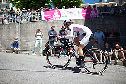 Floortje Mackaaij (NED) of Team Sunweb rides near the top of the final climb of Stage 5 of the Giro Rosa - a 12.7 km individual time trial, starting and finishing in Sant'Elpido A Mare on July 4, 2017, in Fermo, Italy. (Photo by Balint Hamvas/Velofocus.com)