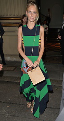 Poppy Delevingne attends The London 2014 Stella McCartney Green Carpet Collection during London Fashion Week at The Royal British Institute in London, UK. 14/09/2014<br />BYLINE MUST READ : GOTCHAIMAGES.COM<br /><br />Copyright by © Gotcha Images Ltd. All rights reserved.<br />Usage of this image is conditional upon the acceptance <br />of Gotcha Images Ltd, terms and conditions available at<br />www.gotchaimages.com