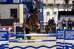 Yaniv Elad, ISR, Alvaro du Gue<br /> European Championship Jumping<br /> Rotterdam 2019<br /> © Hippo Foto - Dirk Caremans<br /> Yaniv Elad, ISR, Alvaro du Gue