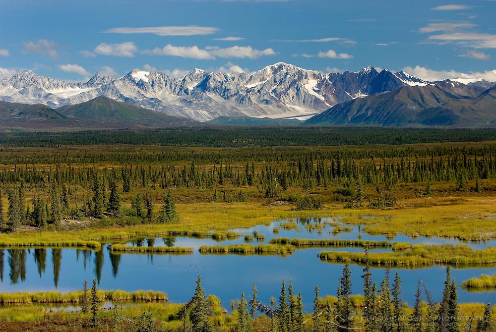 Central Alaska Range from the Denali Highway Alaska