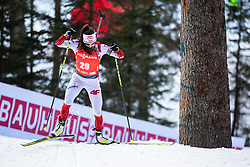 Kamila Zuk (POL) during the Mass Start Women 12,5 km at day 4 of IBU Biathlon World Cup 2019/20 Pokljuka, on January 23, 2020 in Rudno polje, Pokljuka, Pokljuka, Slovenia. Photo by Peter Podobnik / Sportida