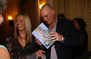 Al Murray and his wife Amber, Gordon Ramsay book launch party for his autobiography Humble Pie. Claridge's Ballroom, London, W1,3 October 2006. -DO NOT ARCHIVE-© Copyright Photograph by Dafydd Jones 66 Stockwell Park Rd. London SW9 0DA Tel 020 7733 0108 www.dafjones.com
