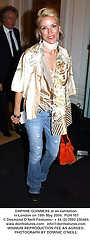 DAPHNE GUINNESS at an exhibition in London on 19th May 2004.PUH 107
