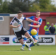 Dundee's Darren O'Dea and Inverness' Liam Polworth  - Inverness Caledonian Thistle  v Dundee, Ladbrokes Scottish Premiership at Caledonian Stadium <br /> <br />  - © David Young - www.davidyoungphoto.co.uk - email: davidyoungphoto@gmail.com