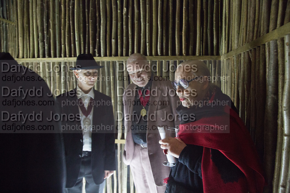 DAVID RENFRY; PAUL HUXLEY; CHRISTINA SMITH, Sensing Spaces, Architecture Reimagined. Royal Academy. Piccadilly. 21 January 2014