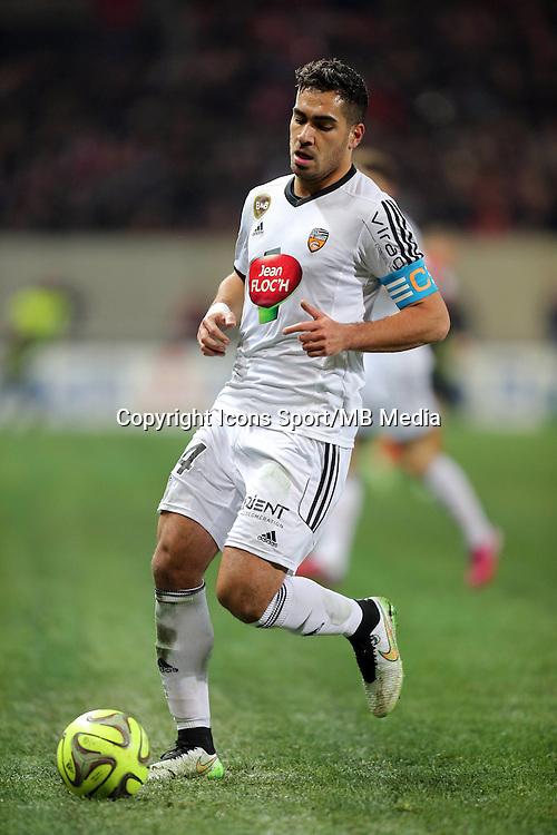 Wesley LAUTOA  - 24.01.2015 - Guingamp / Lorient - 22eme journee de Ligue1<br />Photo : Vincent Michel / Icon Sport *** Local Caption ***