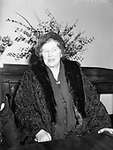 1958 - Mrs. Mirabel D. Topham, owner of Aintree Racecourse
