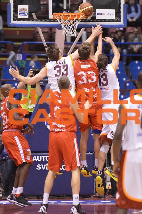 DESCRIZIONE : Milano Coppa Italia Final Eight 2013 semifinale Cimberio Varese Acea Roma<br /> GIOCATORE : Aleksander Czyz<br /> CATEGORIA : controcampo rimbalzo<br /> SQUADRA : Acea Roma<br /> EVENTO : Beko Coppa Italia Final Eight 2013<br /> GARA : Cimberio Varese Acea Roma<br /> DATA : 09/02/2013<br /> SPORT : Pallacanestro<br /> AUTORE : Agenzia Ciamillo-Castoria/GiulioCiamillo<br /> Galleria : Lega Basket Final Eight Coppa Italia 2013<br /> Fotonotizia : Milano Coppa Italia Final Eight 2013 semifinale Cimberio Varese Acea Roma<br /> Predefinita :