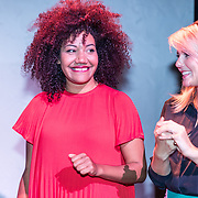 NLD/Amsterdam/20170914 - Lancering &C Me talent stage,  Anbasja Blanken en Chantal Janzen