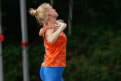 10-09-2019 NED: Team presentation World Cup Doha, Arnhem<br /> Anouk Vetter in action during the training, prior to the team presentation for the World Championships in Doha.