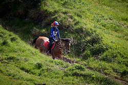 Van De Water Isabelle, (BEL), Quanto<br /> Nationale Finale AVEVE Eventing Cup voor Pony's<br /> Minderhout 2016<br /> © Dirk Caremans