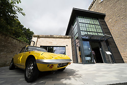 Official opening day of new Jim Clark Museum in Duns, Scotland, UK