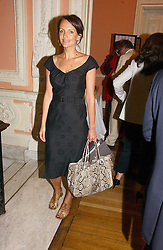 SAFFRON ALDRIDGE at a party to celebrate the publication of 'A Much Married Man' by Nicholas Coleridge held at the ESU, Dartmouth House,  37 Charles Street, London W1 on 4th May 2006.<br /><br />NON EXCLUSIVE - WORLD RIGHTS