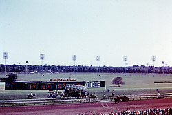 Arlington Race Track circa 1973<br /> <br />  Photos taken by George Look.  Image started as a color slide.