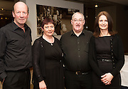 Michael mcMahon, Martina Malone, Gerry McHugh and Frances Cooke from Medtronic who  performed  at Choir Factor in the Radisson Blu.<br /> Choir Factor is a fundraiser for The Sccul Sanctuary, Therapeutic Support Centre in Kilcornan Clarenbrdge.<br /> <br />  Photo:Andrew Downes, xposure.
