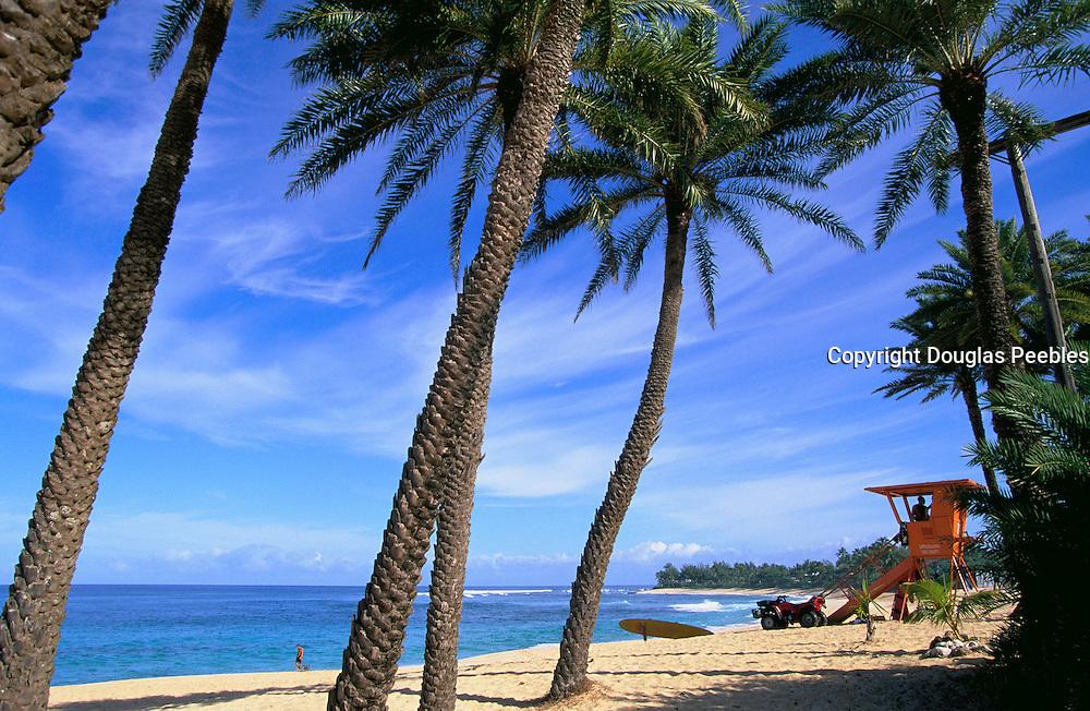 Sunset Beach, North Shore, Oahu, Hawaii, USA<br />
