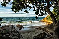 Praia do Forte. Florianópolis, Santa Catarina, Brasil. / Forte Beach. Florianopolis, Santa Catarina, Brazil.
