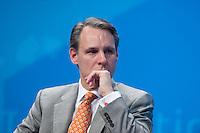 "29 MAY 2009, LEIPZIG/GERMANY:<br /> Scott Price, CEO, DHL Express Europe, Panel P 4: ""International Leaders´ Roundtable - Moving the Agenda Forward"", International Transport Forum, CC, Leipzig<br /> IMAGE: 20090529-01-035"